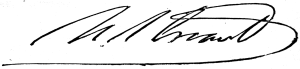 Ulysses Grant Signature