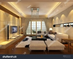 image of living room - shutterstock