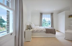 Soundproof Sash Windows in Bedroom