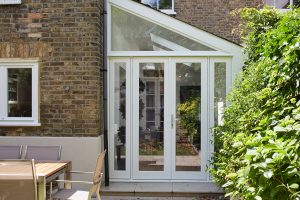 round french doors