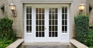 french doors contemporary