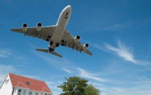 plane passes