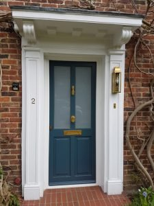 how to soundproof front door